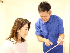 京都市中京区四条大宮の藤枝整骨院では、事故にあわれた患者様の問診を丁寧に行います。